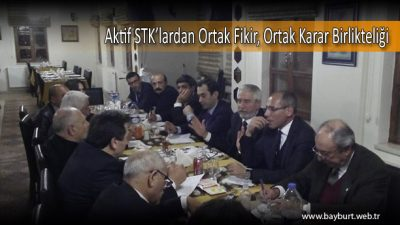 Aktif STK'lardan Ortak Fikir, Ortak Karar Birlikteliği