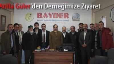 Atilla Güler'den Derneğimize Ziyaret