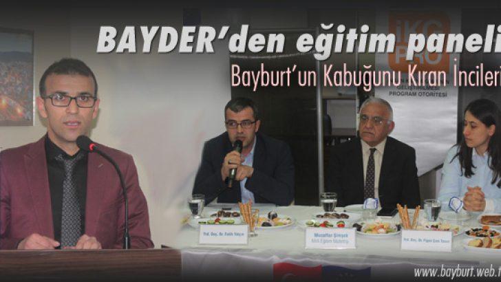 BAYDER'den eğitim paneli