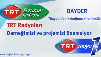 TRT, çalışmalarımızı önemsiyor
