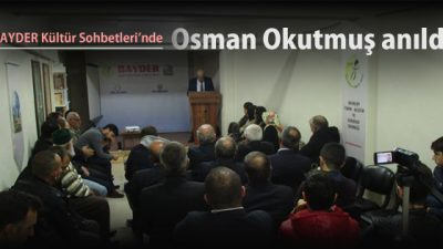 Osman Okutmuş vefatının 24. yılında anıldı