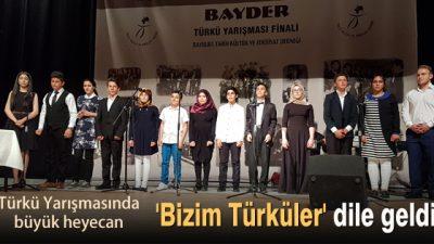 Derneğimizden 'Bizim Türküler'e vefa