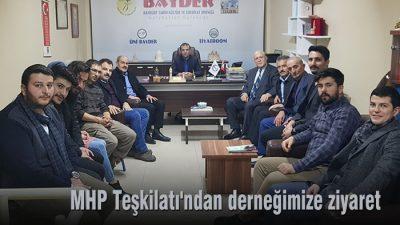 MHP Teşkilatı'ından derneğimize ziyaret