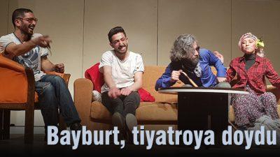 Bayburt, tiyatroya doydu