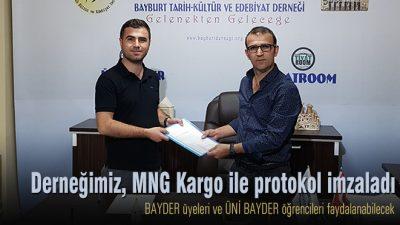 BAYDER, MNG Kargo ile protokol imzaladı