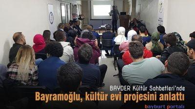 Bayramoğlu, 'kültür evi' projesini anlattı