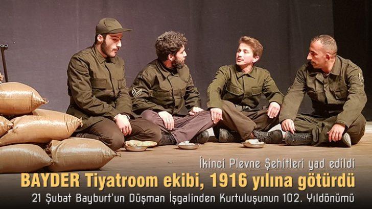 Kurtuluş programında Tiyatroom ile 1916'ya yolculuk